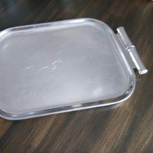 Vintage Wilton Armetale Silver-Tone Serving Tray